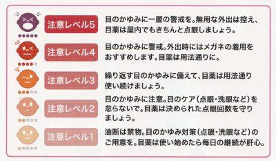 花粉情報お知らせサービスかゆみダス